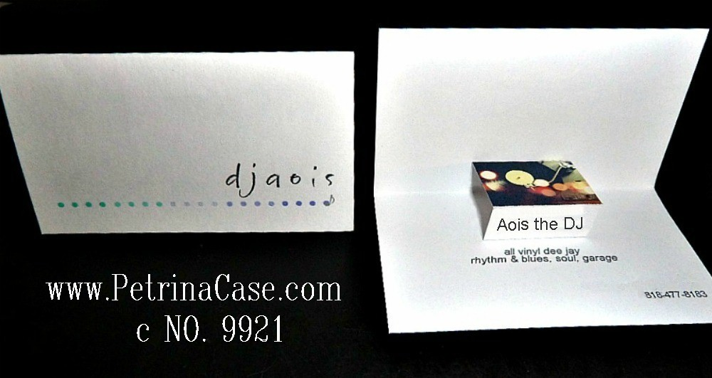 Pop-Up Business Cards