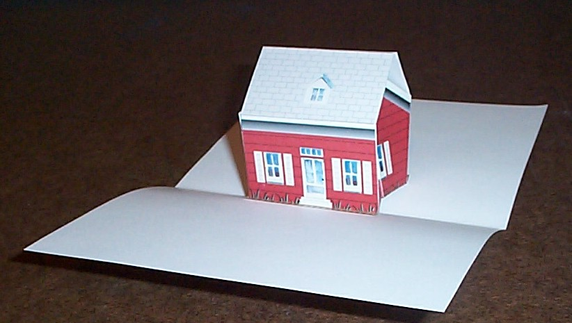 free paper popup cut out and make